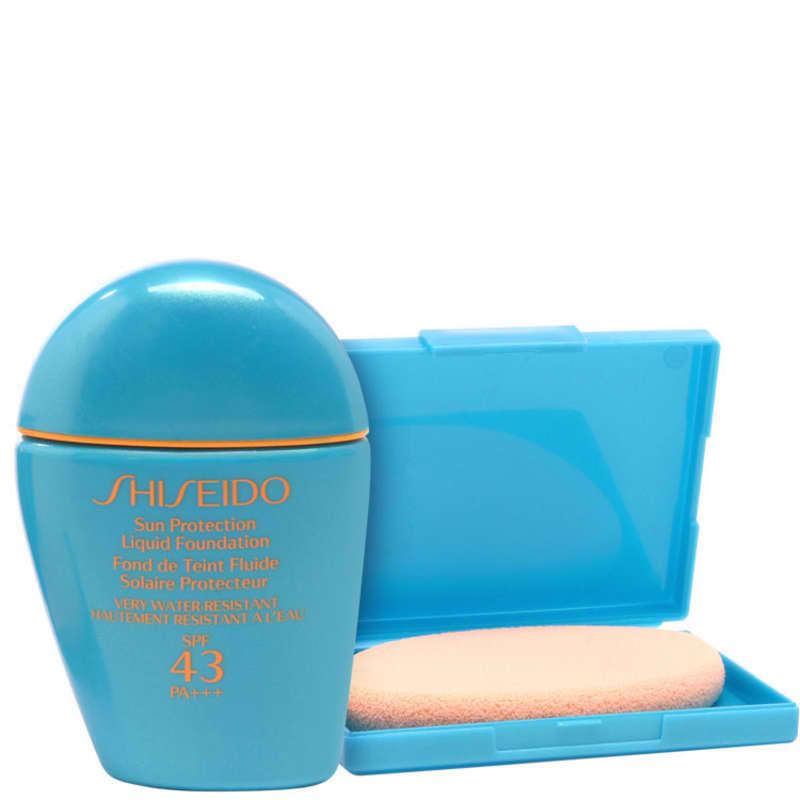 Shiseido Sun Protection Liquid Foundation N Fps 43 Light Beige - Base Com Proteção Solar 20
