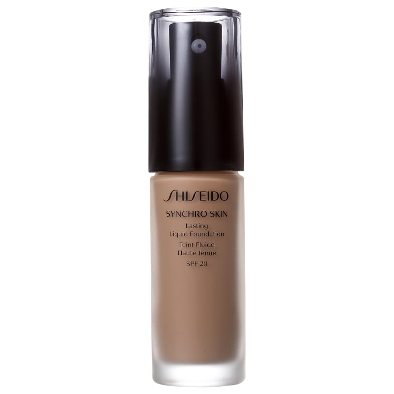 Shiseido Synchro Skin Lasting Liquid Foundation FPS 20 N3 Neutral 3 - Base Líquida 30ml