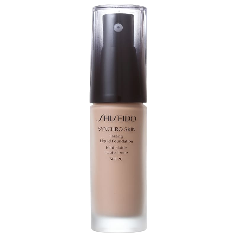 Shiseido Synchro Skin Lasting Liquid Foundation FPS 20 R3 Rose 3 - Base Líquida 30ml