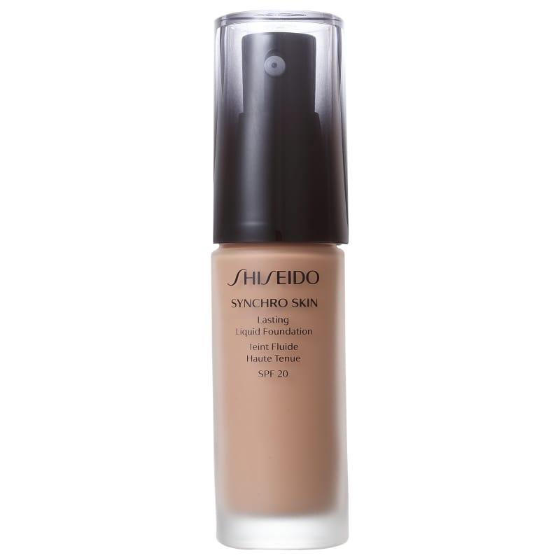 Shiseido Synchro Skin Lasting Liquid Foundation FPS 20 R4 Rose 4 - Base Líquida 30ml