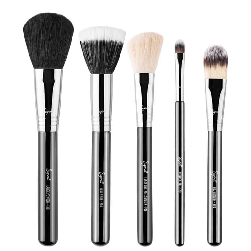 Kit de Pincéis Sigma Beauty Basic Face (5 Produtos)