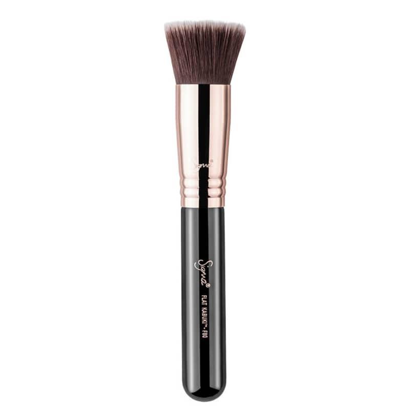 Sigma Beauty F80 Flat Kabuki Copper - Pincel para Base