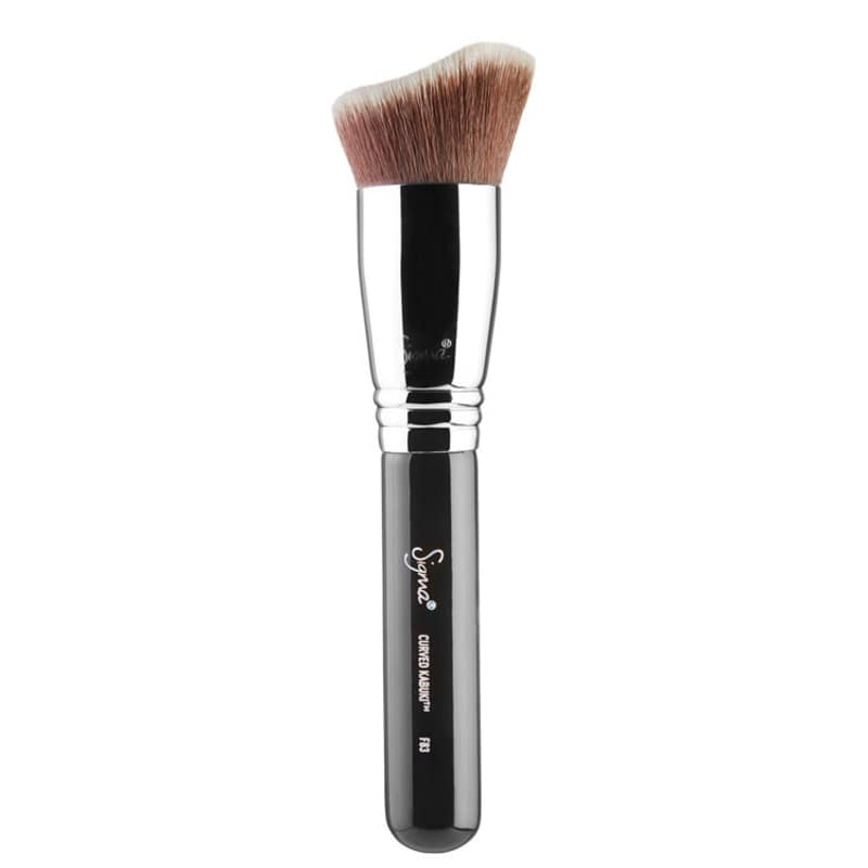 Sigma Beauty F83 Curved Kabuki - Pincel para Base e Contorno