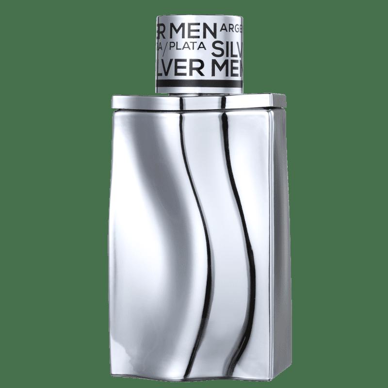 Silver Men Georges Mezotti Coscentra Eau de Toilette -  Perfume Masculino 100ml