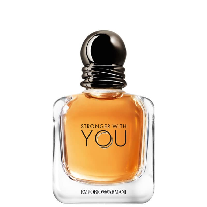 Stronger With You Giorgio Armani Eau de Toilette - Perfume Masculino 100ml
