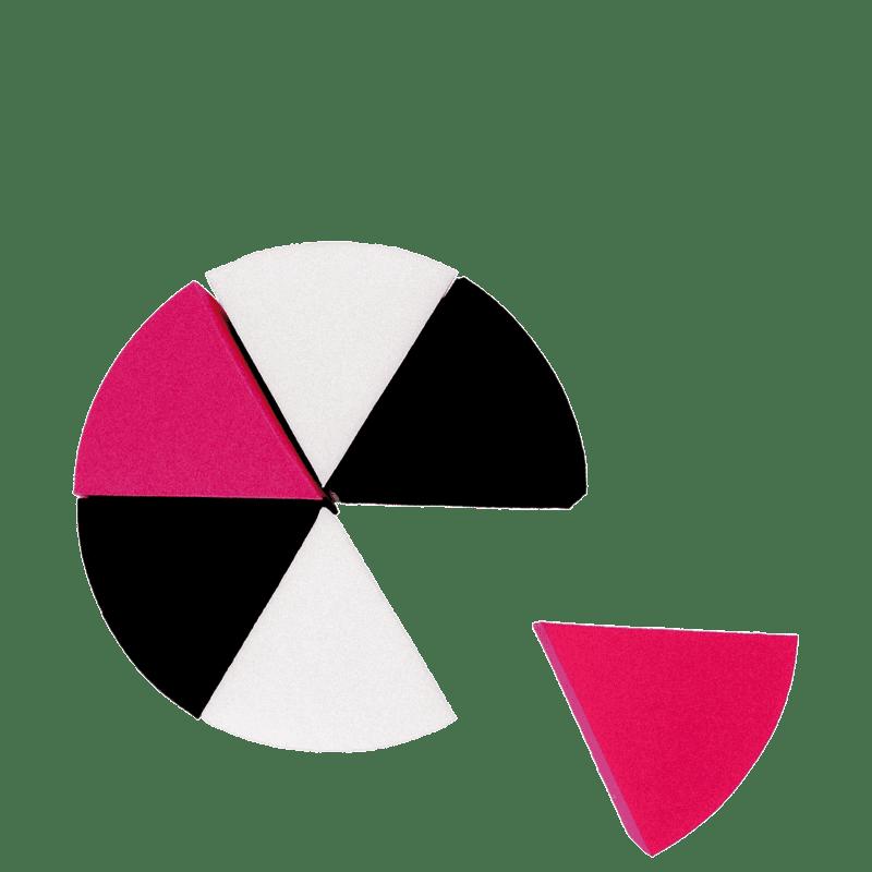 Studio KV Esponja Queijinho (6 unidades) - Esponja de Maquiagem