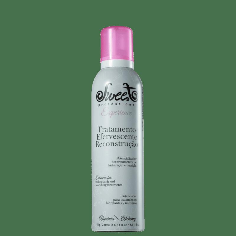 Sweet Hair Experience Efervescente Reconstrução - Tratamento Capilar 240ml