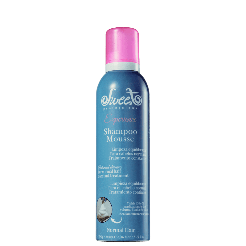 Sweet Hair Experience Mousse Normal Hair - Shampoo 260ml