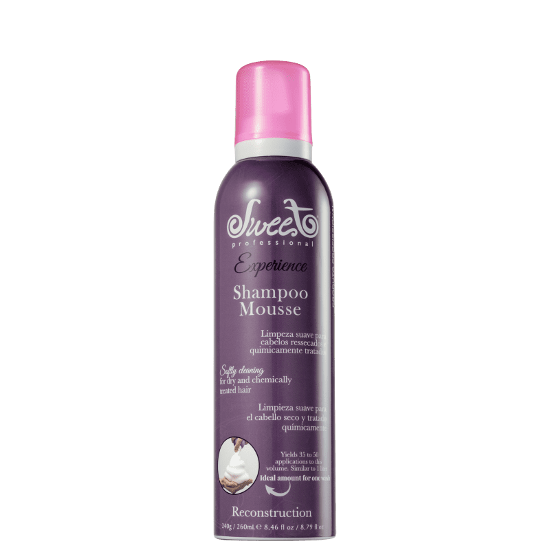 Sweet Hair Experience Mousse Reconstruction - Shampoo 260ml