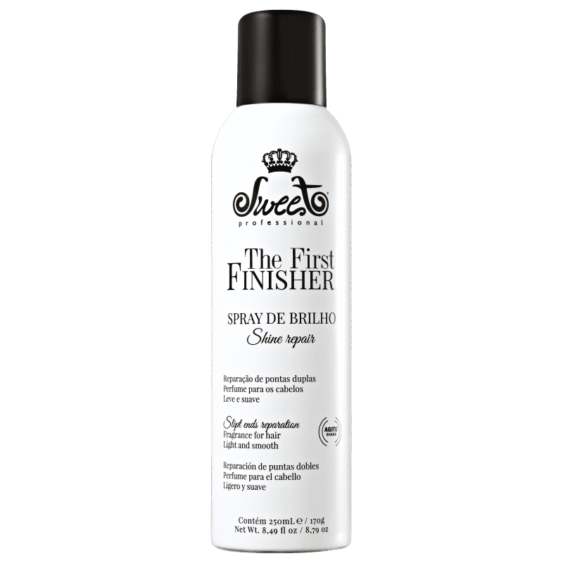 Sweet Hair The First Finisher Shine Repair - Spray de Brilho 250ml