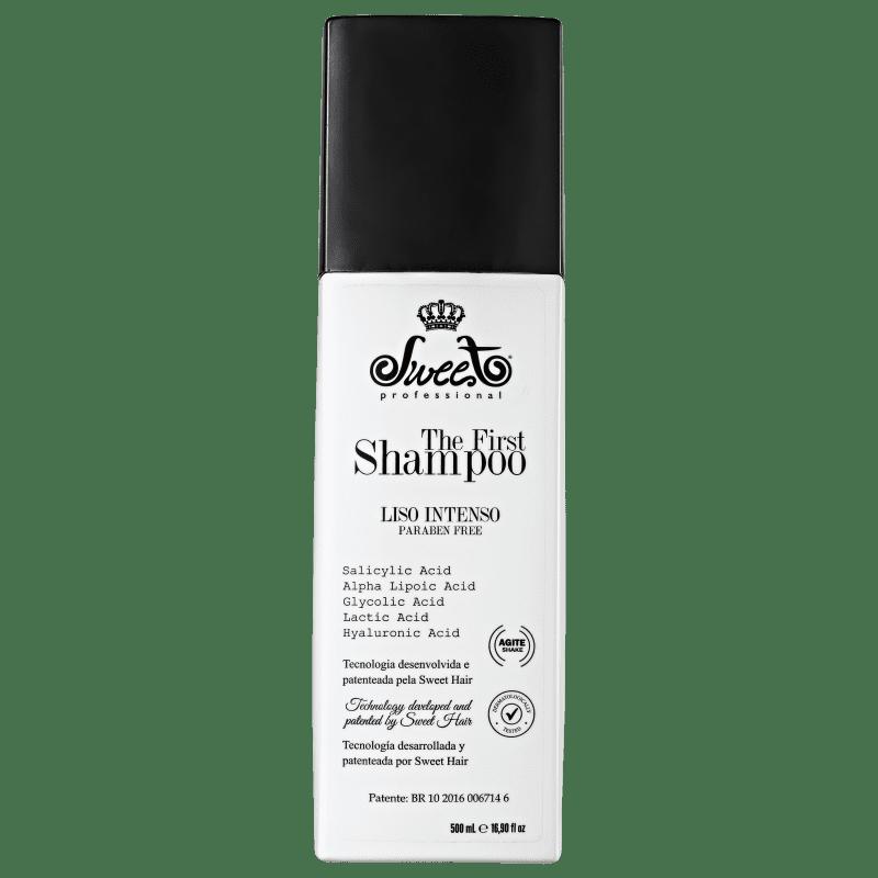 Sweet Hair The First Liso Intenso - Shampoo Alisante 500ml