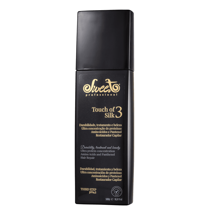 Sweet Hair Touch of Silk - Máscara de Tratamento 500g