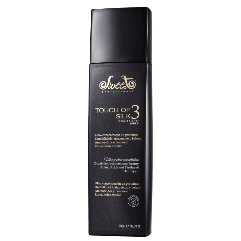 Sweet Hair Touch of Silk - Máscara de Tratamento 980g