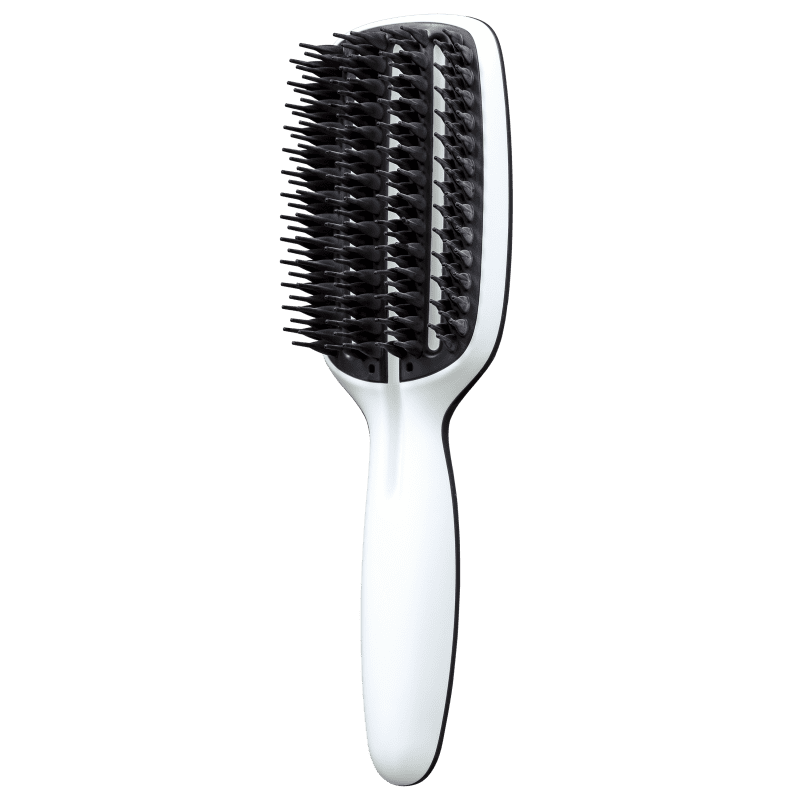 Tangle Teezer Blow-Styling Half Paddle Black/White - Escova de Cabelo