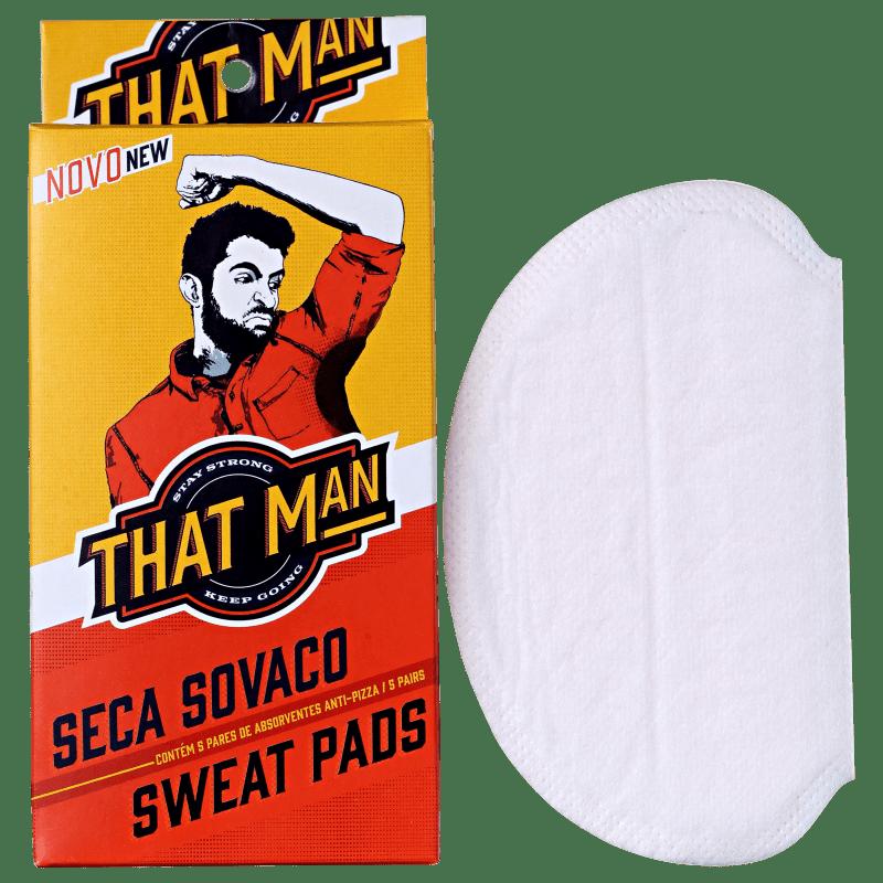 That Man Seca Sovaco - Protetor de Axilas (5 pares)