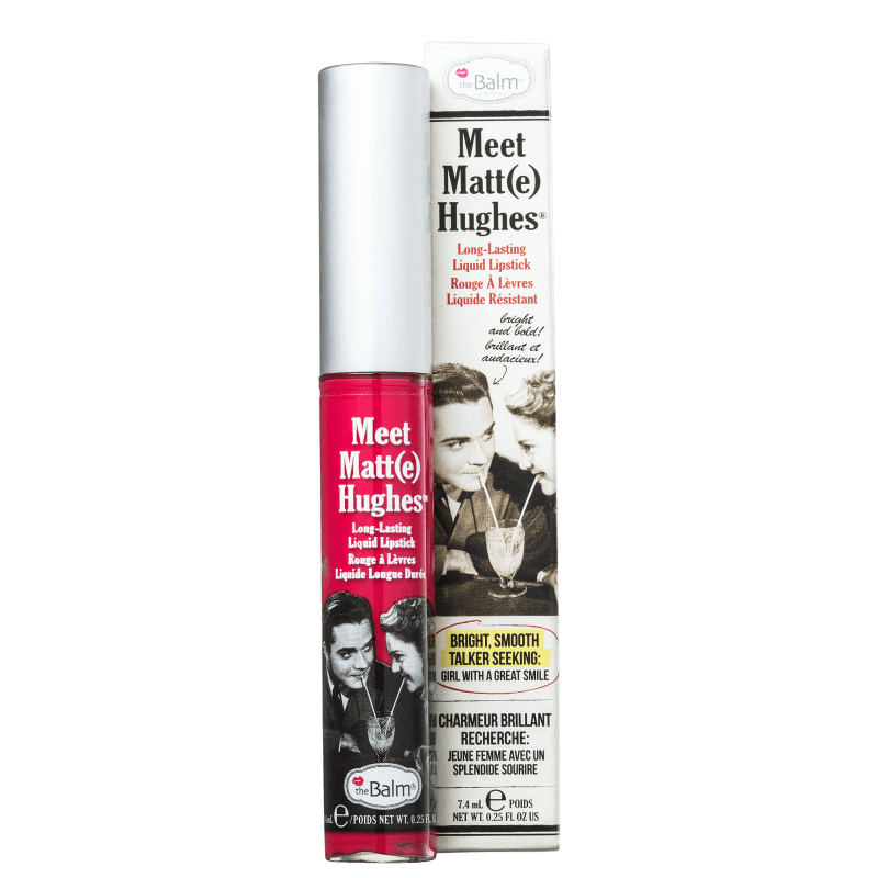 the Balm Meet Matt(e) Hughes Sentimental - Batom Líquido 7,4ml