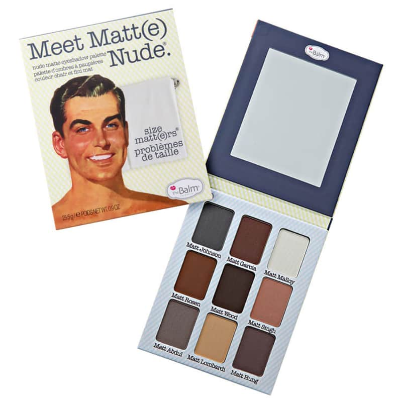 the Balm Meet Matt(e) Nude - Paleta de Sombras 25,5g