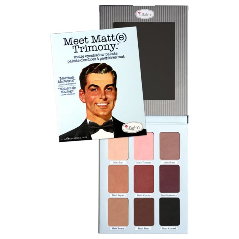the Balm Meet Matte Trimony - Paleta de Sombras 21,6g