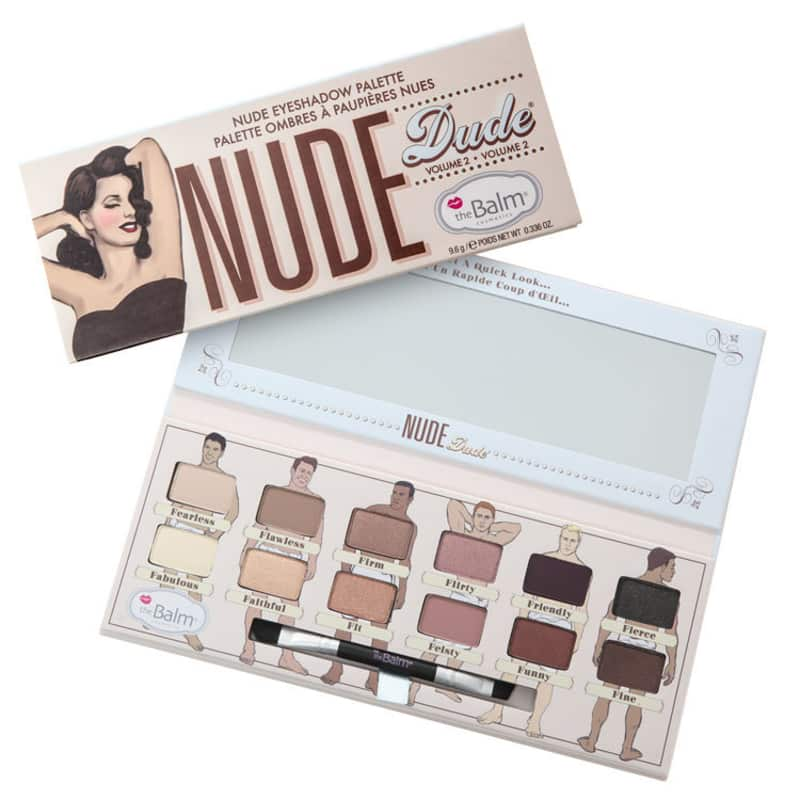 the Balm Nude Dude Volume 2 - Paleta de Sombras 9,6g