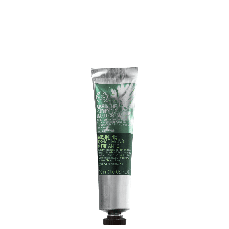 The Body Shop Absinthe Purifying - Creme para as Mãos 30ml