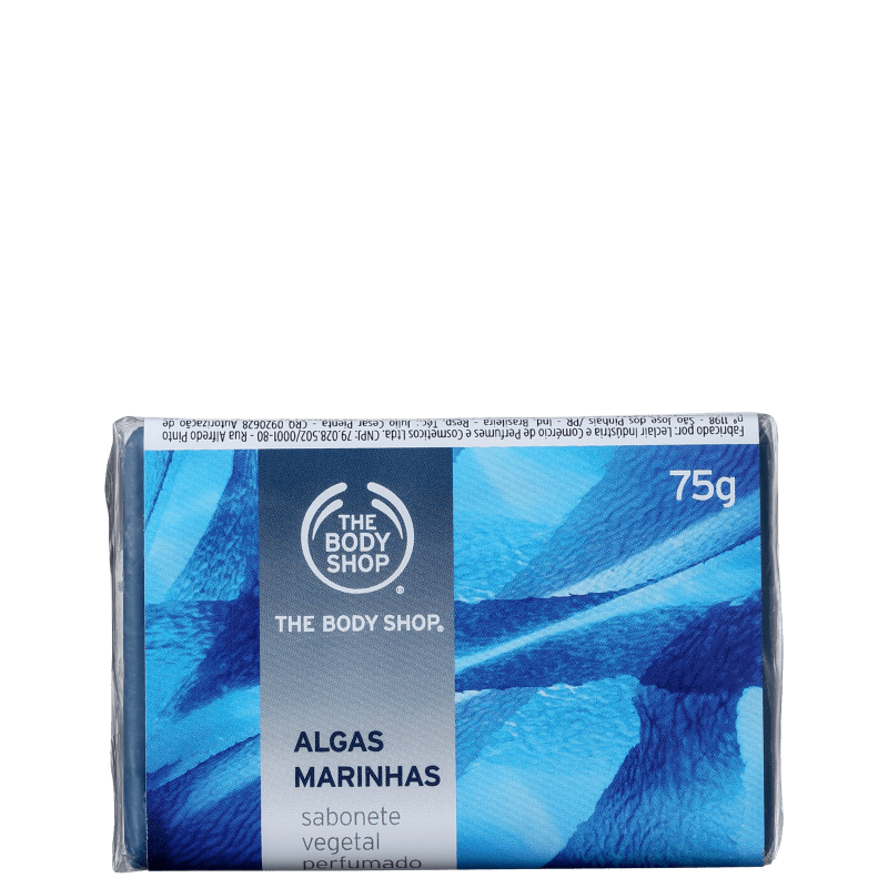 The Body Shop Algas Marinhas - Sabonete em Barra 75g