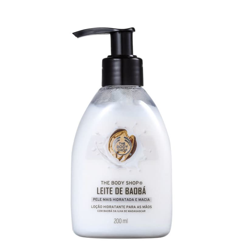 The Body Shop Leite de Baobá - Loção para as Mãos 200ml