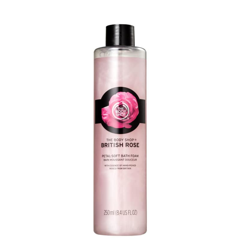 The Body Shop British Rose Petal-Soft - Espuma de Banho 250ml