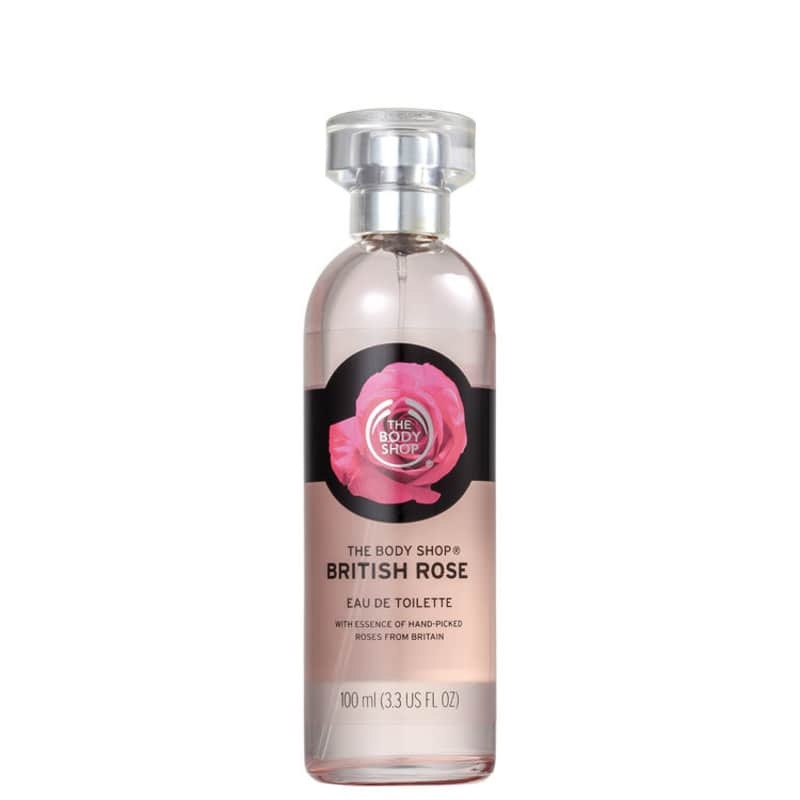 British Rose The Body Shop Eau de Toilette - Perfume Feminino 100ml
