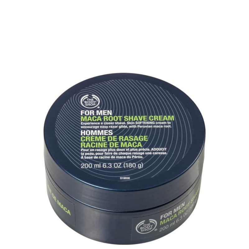 The Body Shop Maca Root - Creme de Barbear 200ml
