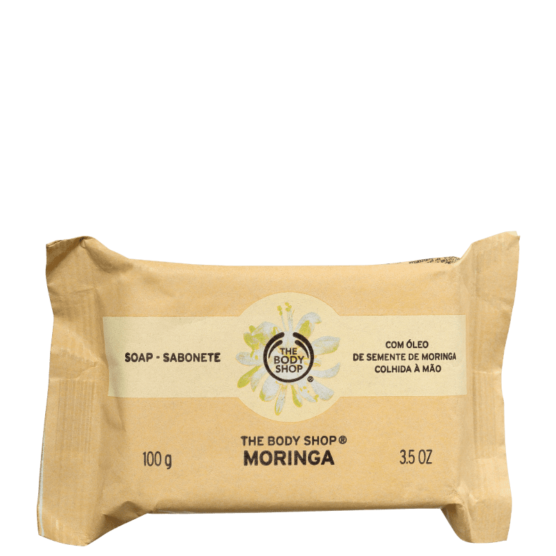 The Body Shop Moringa - Sabonete em Barra 100g