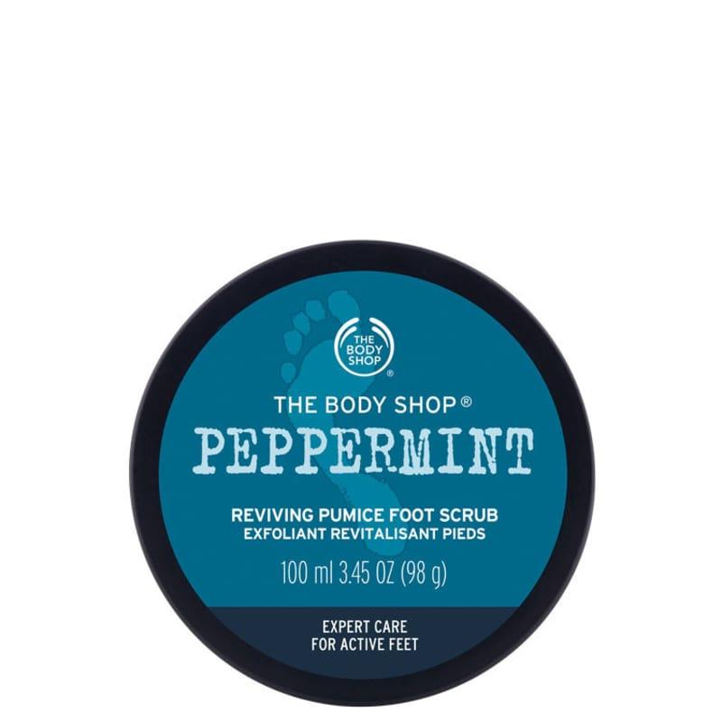 The Body Shop Peppermint Foot Scrub – Esfoliante para os Pés 100 ml
