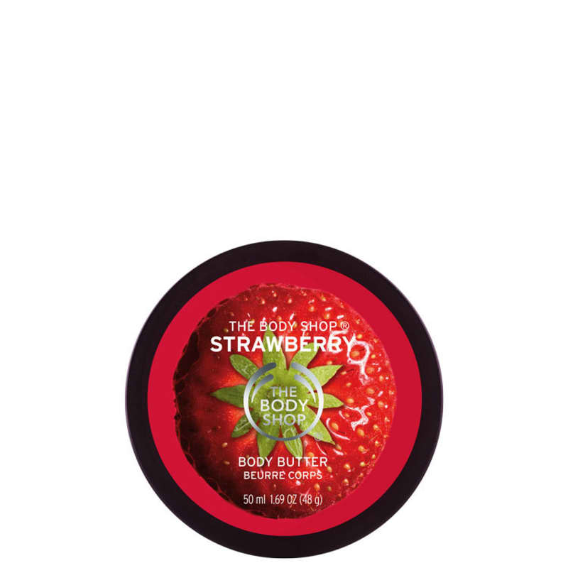 The Body Shop Strawberry - Manteiga Hidratante Corporal 50ml