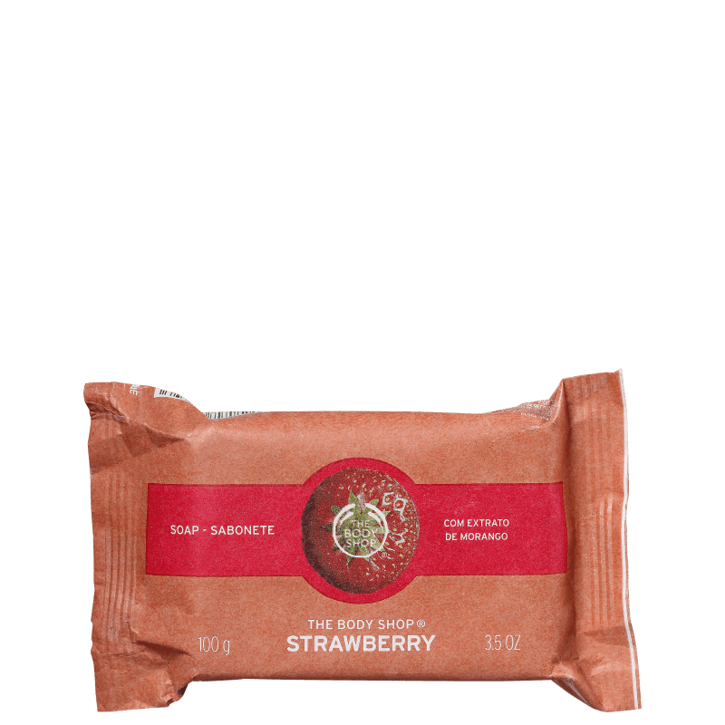 The Body Shop Strawberry - Sabonete em Barra 100g