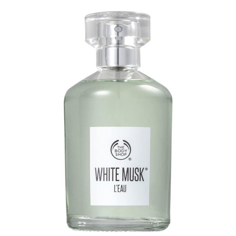 White Musk L'Eau The Body Shop Eau de Toilette - Perfume Unissex 100ml