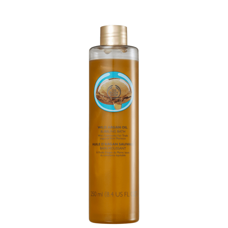 The Body Shop Wild Argan Oil - Espuma de Banho 250ml