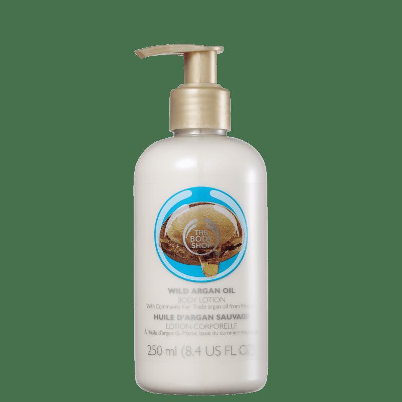 The Body Shop Wild Argan Oil - Loção Hidratante Corporal 250ml
