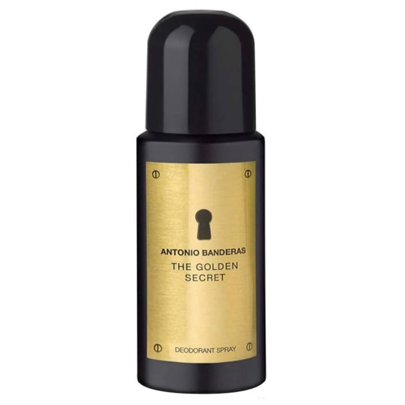 Antonio Banderas Secret The Golden - Desodorante Masculino 150ml