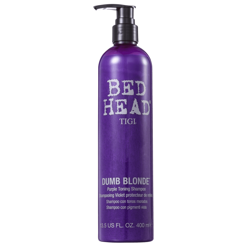 TIGI Bed Head Dumb Blonde Purple Toning - Shampoo Matizador 400ml