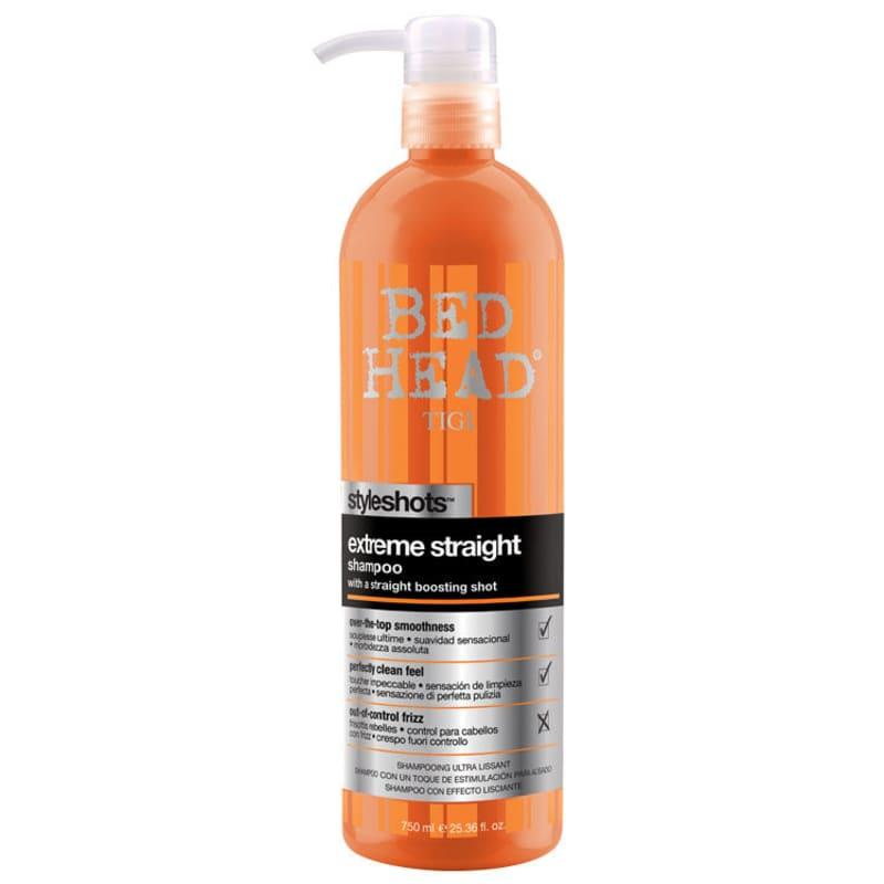 TIGI Bed Head Styleshots Extreme Straight - Shampoo 750ml