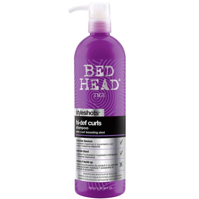 TIGI Bed Head Styleshots Hi-Def Curls - Shampoo 750ml