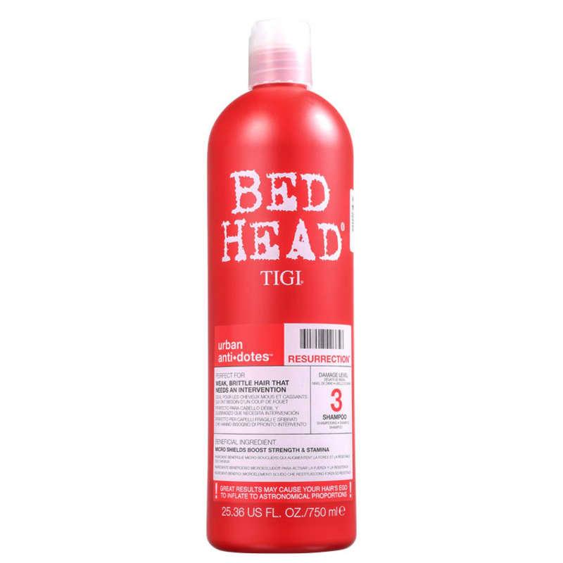 TIGI Bed Head Urban Anti+Dotes 3 Resurrection - Shampoo 750ml