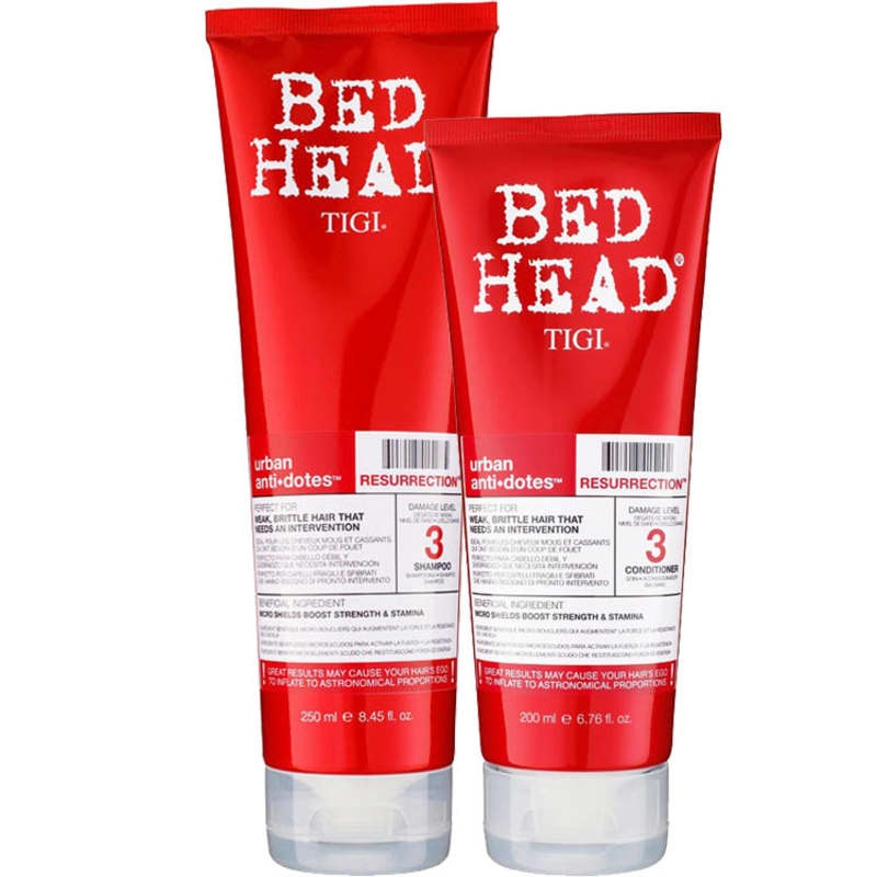 Kit TIGI Bed Head Urban Anti+Dotes 3 Resurrection Duo (2 Produtos)