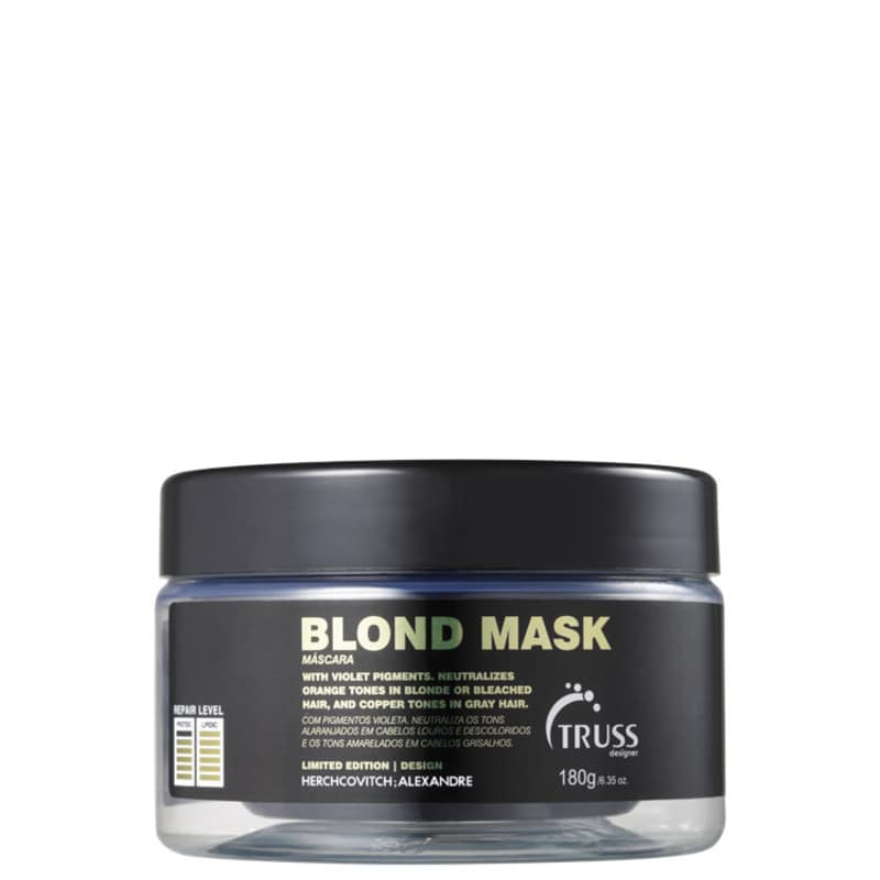 Truss Alexandre Herchcovitch Blond - Máscara Desamareladora 180ml
