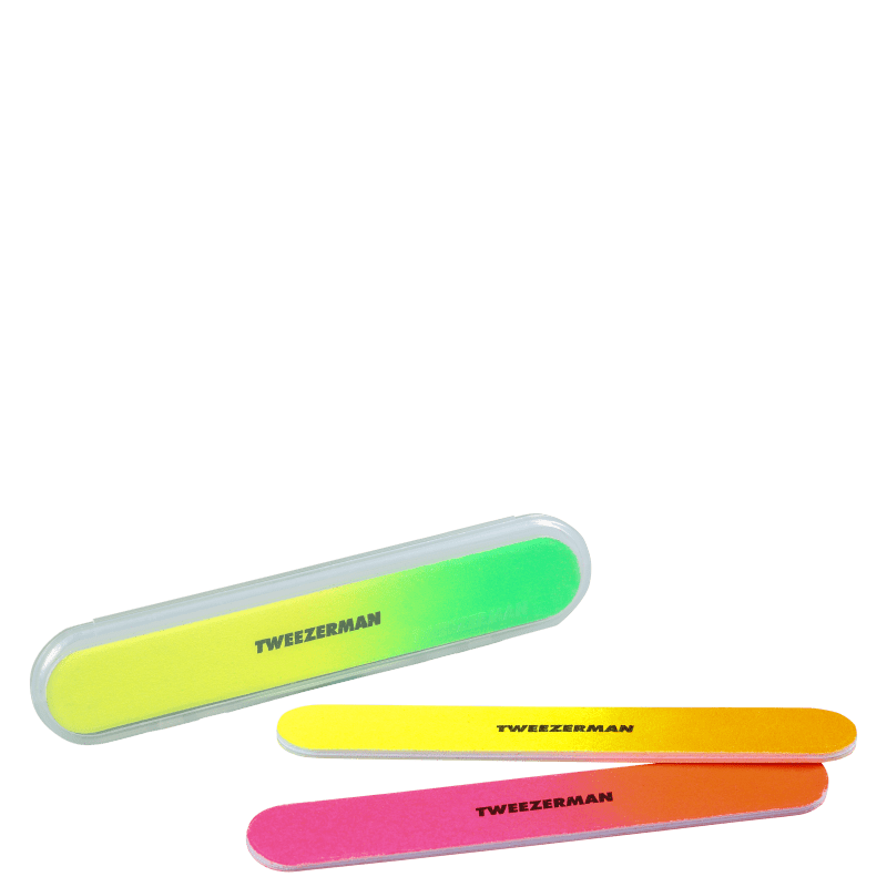 Tweezerman Neon - Kit de Lixas