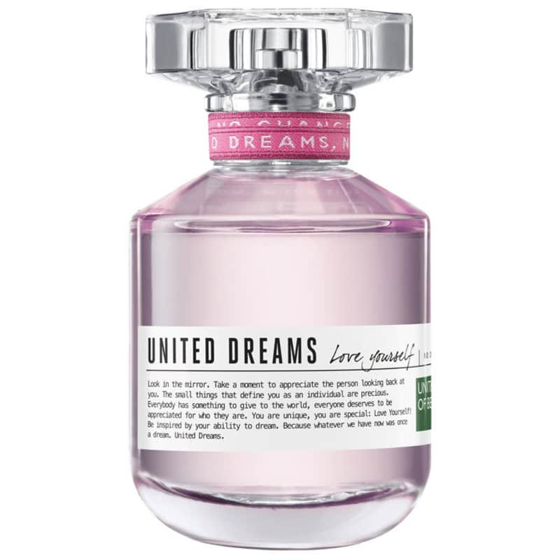 United Dreams Love Yourself Benetton Eau de Toilette - Perfume Feminino 80ml