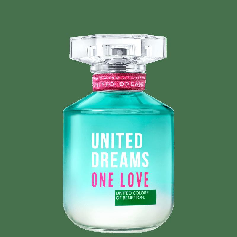 United Dreams One Love Her Benetton Eau de Toilette - Perfume Feminino 80ml