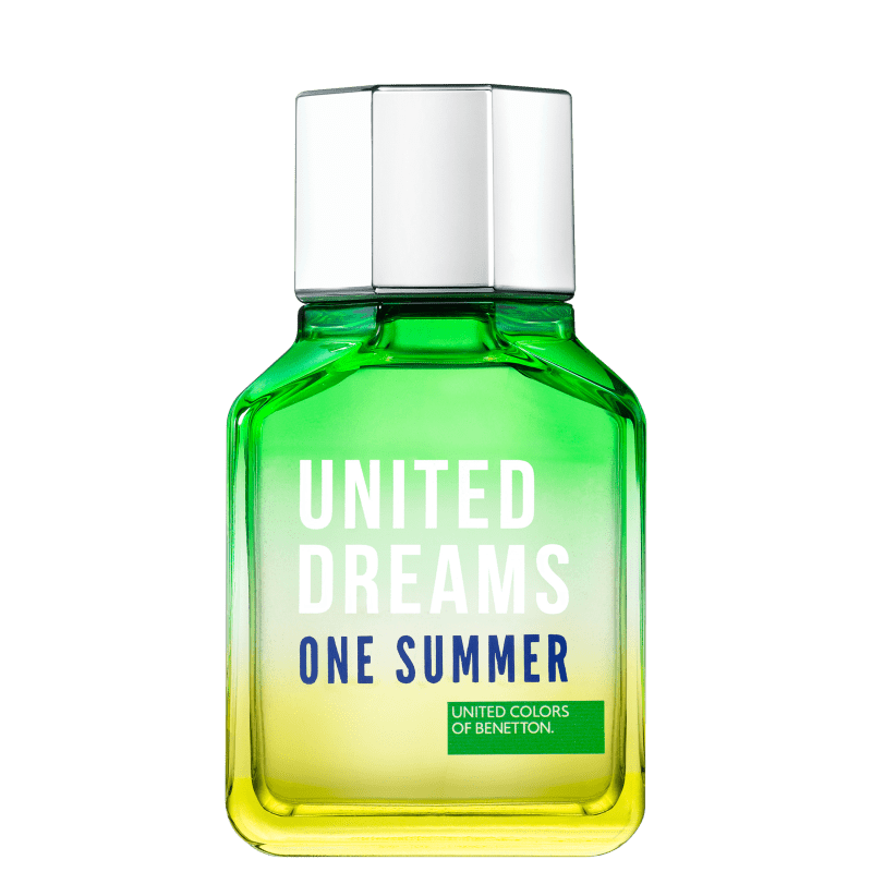 United Dreams One Summer Him Benetton Eau de Toilette - Perfume Masculino 100ml