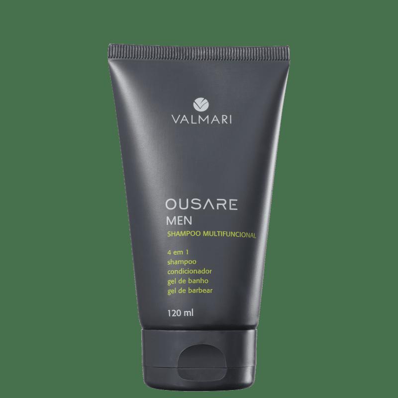 Valmari Ousare Men - Shampoo Multifuncional 120ml