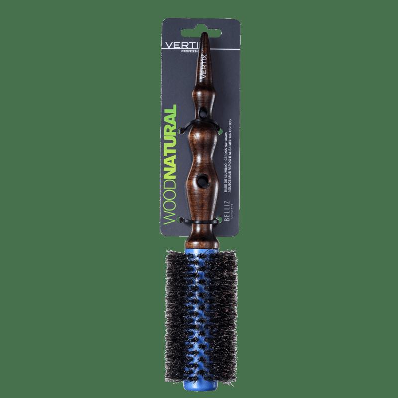 Vertix Premium Wood Natural 25 - Escova Térmica