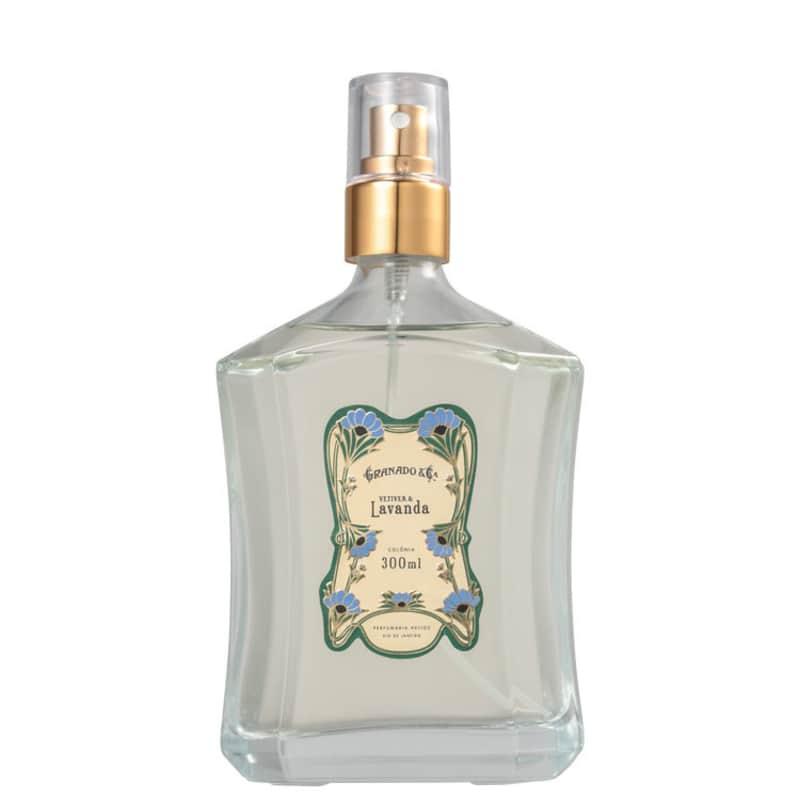 Vetiver & Lavanda Granado Eau de Cologne - Perfume Unissex 300ml